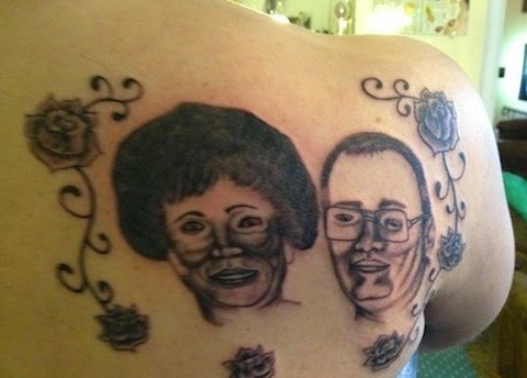Grandma and Grandma Tattoo