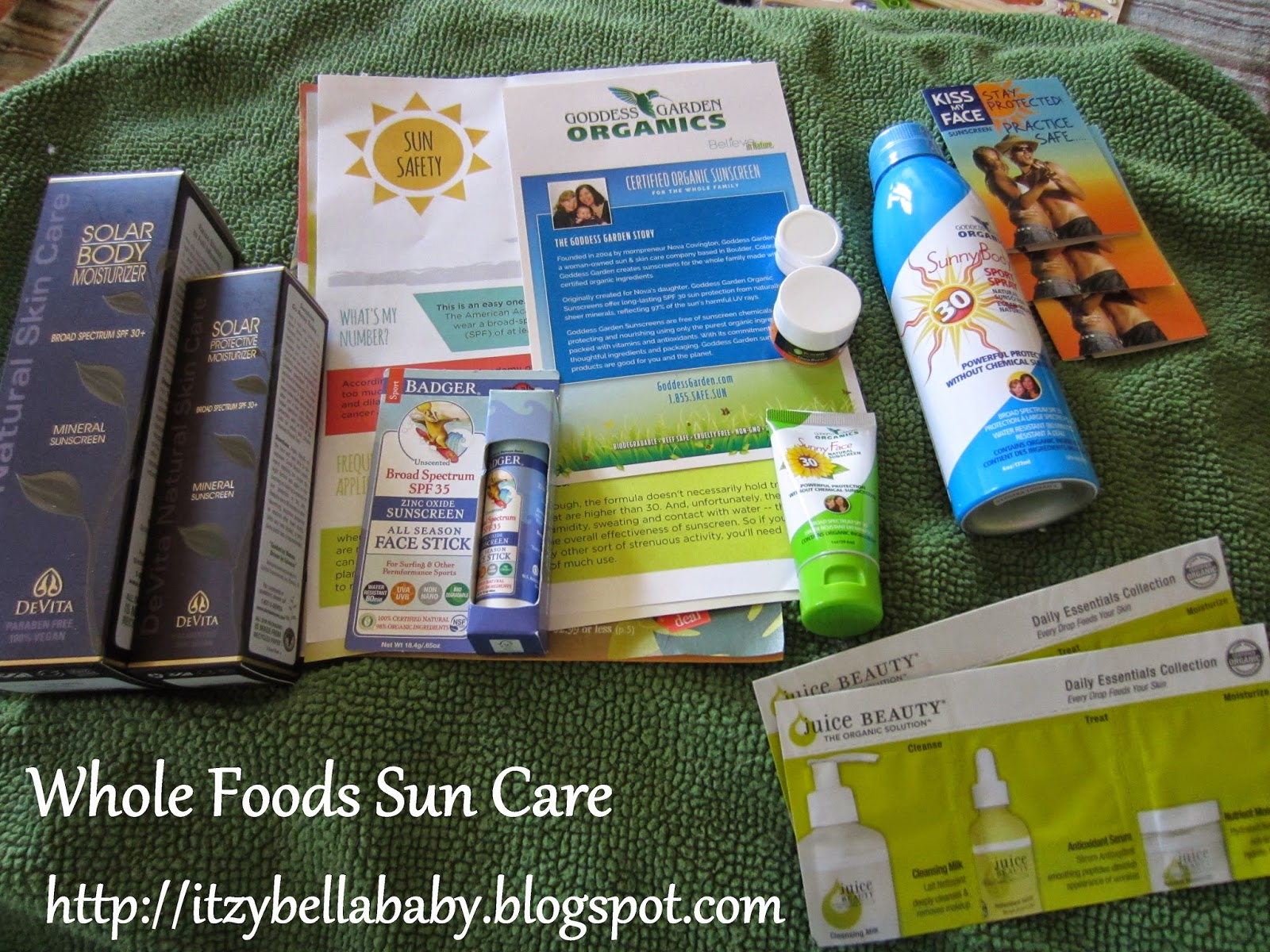 Whole Foods Sun Care in the desert