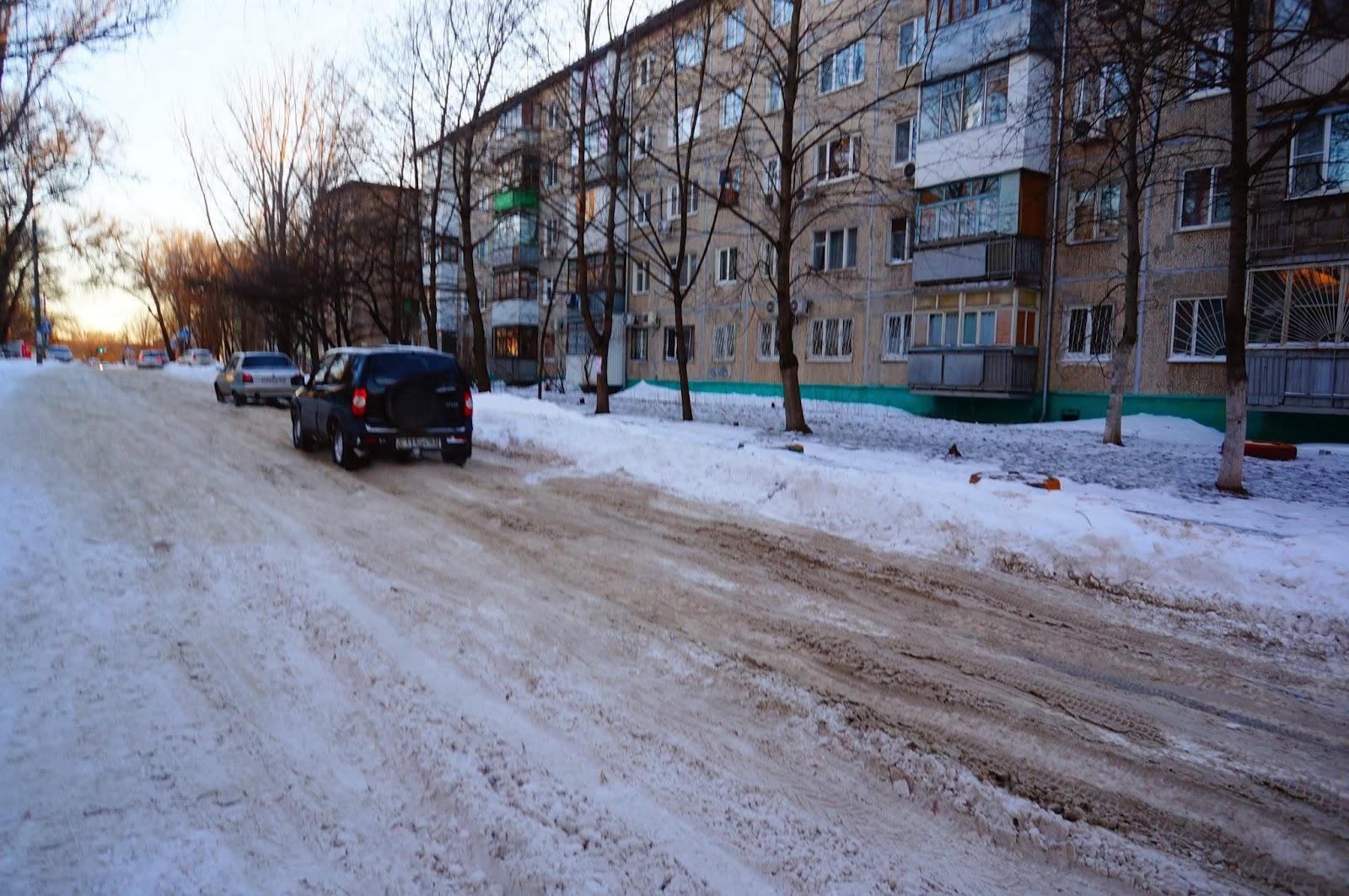 Зима в Ростове 2014
