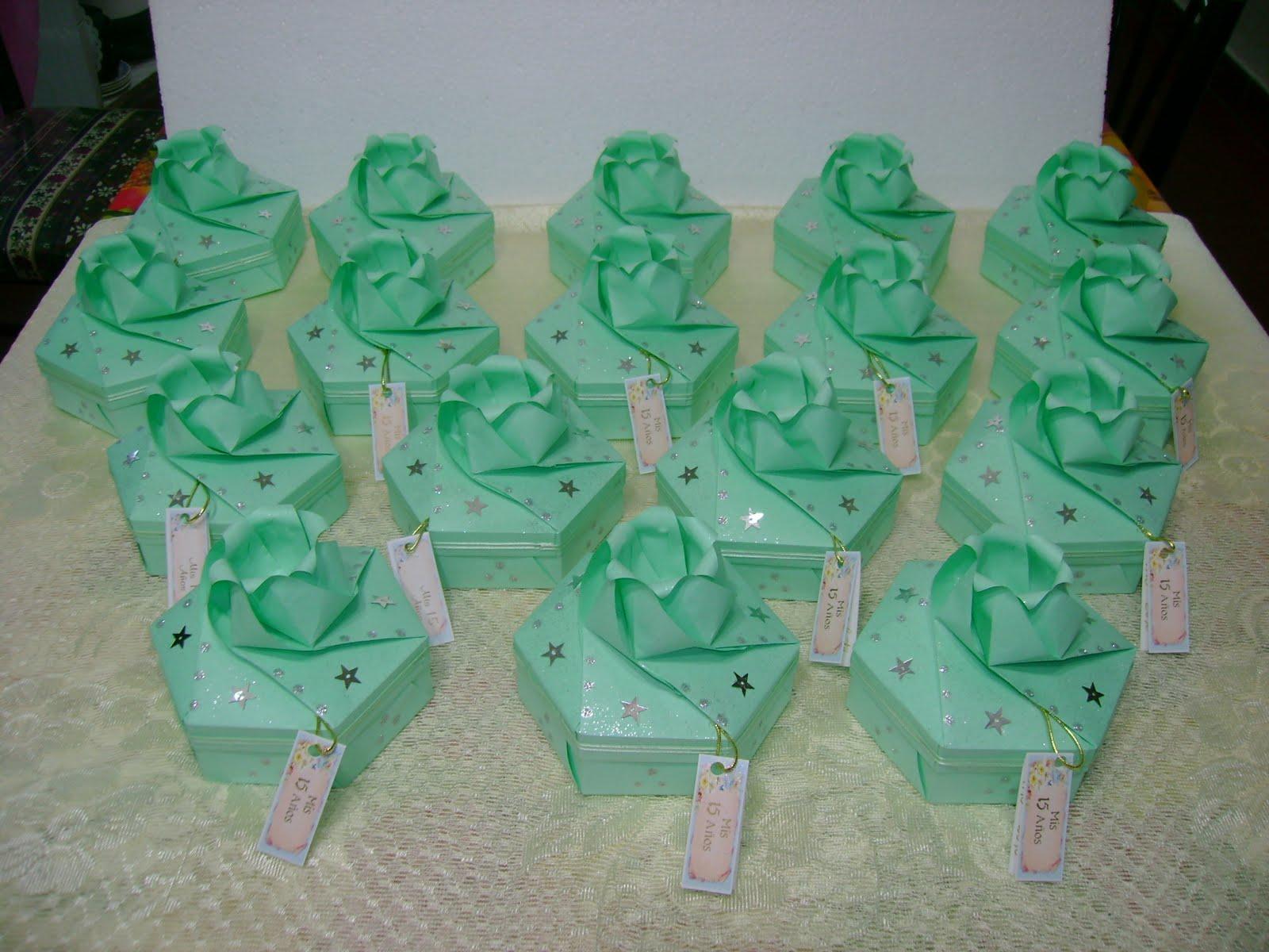 Cajas de papel origami - Cajas forradas de papel ...