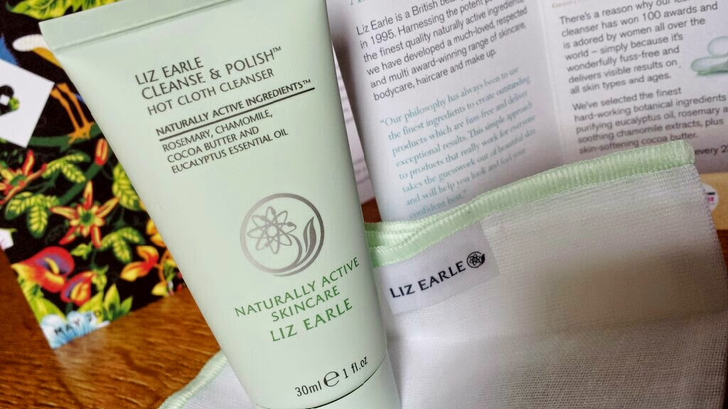 Birchbox May 2014 Harper's Bazaar Liz Earle Cleanse and Polish