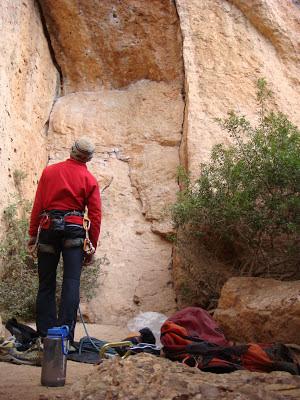Sector del Vermell del Xiscarró. Montserrat Sur.