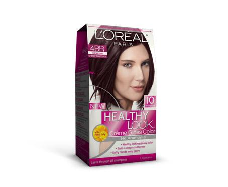 Dark Plum Brown Hair Color