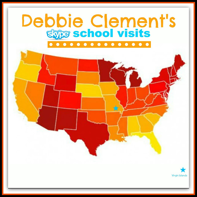 photo of: Skype Author School Visits with Debbie Clement