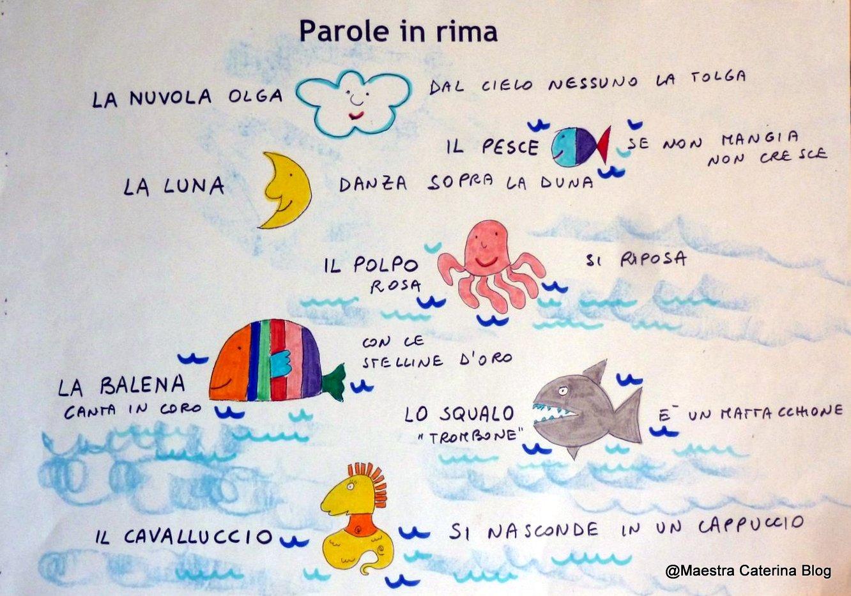 Favorito Maestra Caterina: Laboratorio linguistico: La Nuvola Olga in fondo  UH07