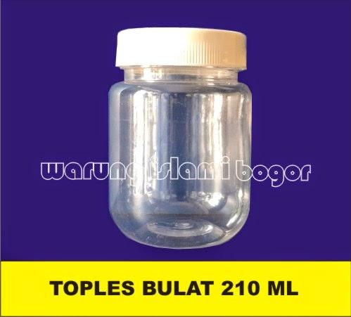 Jual Botol Selai Toples Plastik 200ml