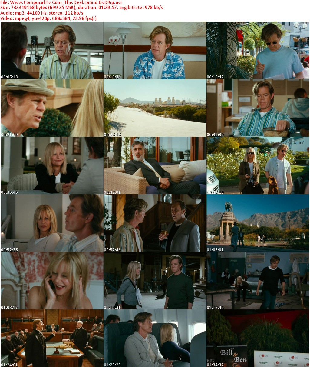 The Deal DVDRip [Español Latino]