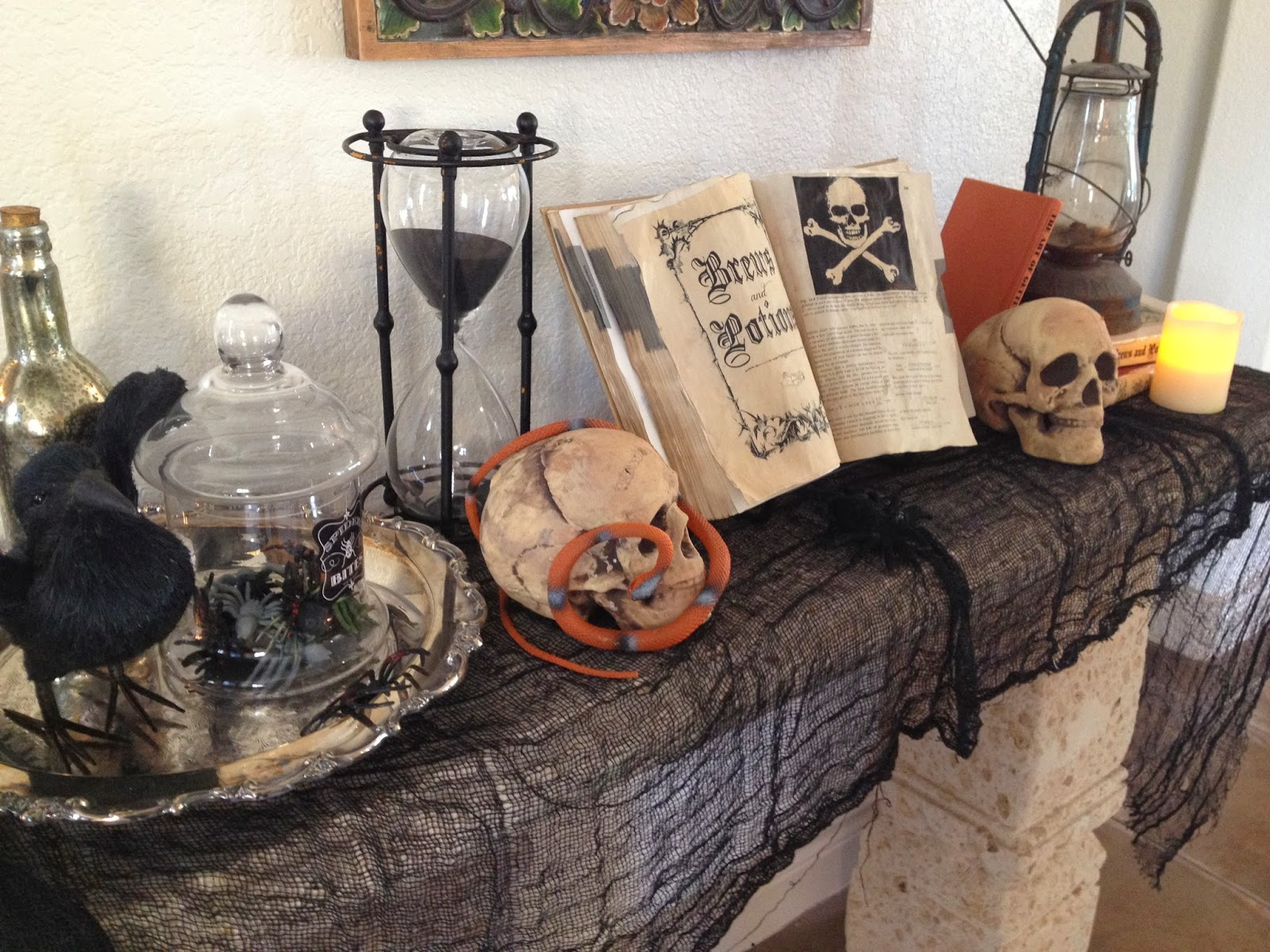 The decorating duchess cheap and easy halloween decor ideas inside - Cheap and easy halloween decorations ...