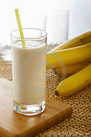 Healthy 3 Ingredient Banana Shake