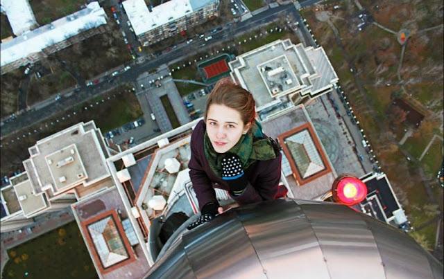 Xenia Ignatyeva tewas terjatuh sesaat dia mengambil foto selfie-1