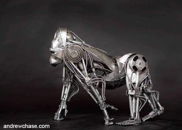 07-Gorilla-Andrew-Chase-Recycle-Fully-Articulated-Mechanical-Animal-www-designstack-co