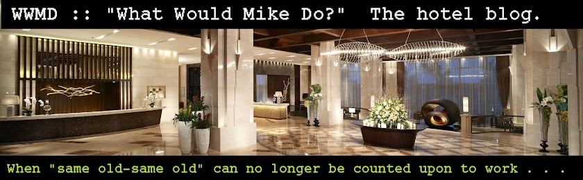 What Would Mike Do?: The hotel blog