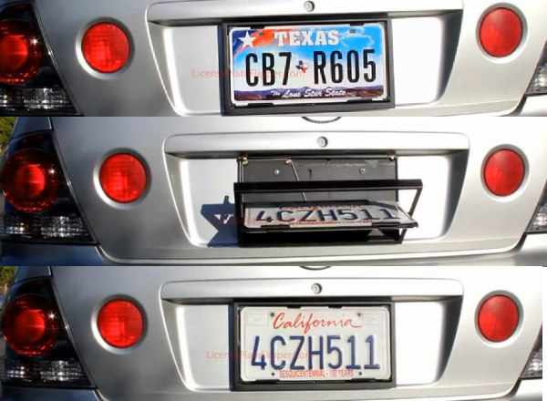 Can You Swich Your License Plates To Another Car