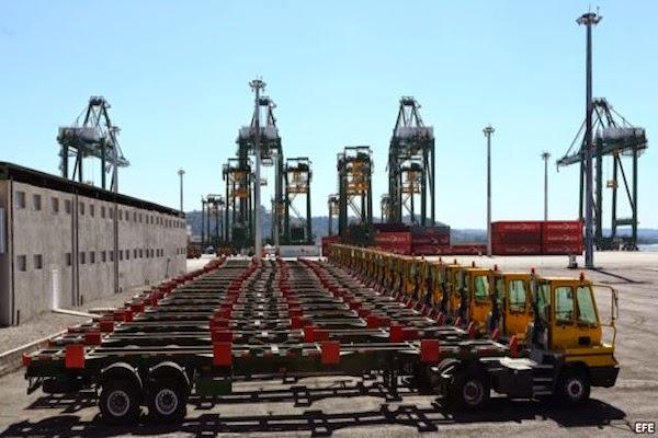 Resultado de imagem para imagem para o porto de mariel - cuba
