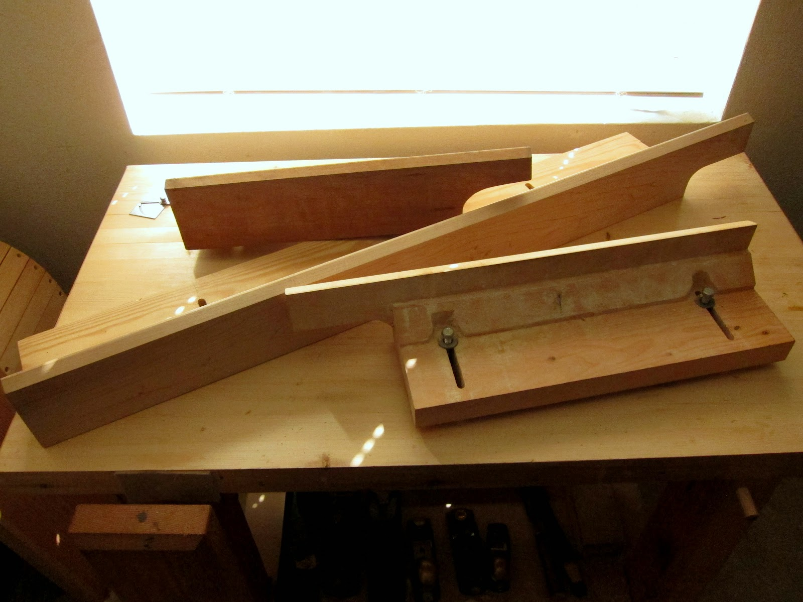 Wooden Lathe Tool Rest