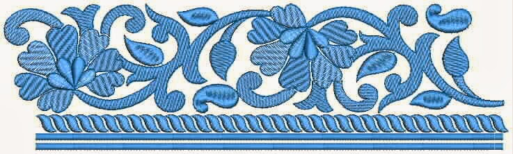 Nice look With Amazing Flowers Lace Embroidery Designs ~ Embdesigntube