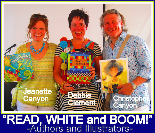 photo of: Author and Illustrators: Jeanette and Christopher Canyon + Debbie Clement