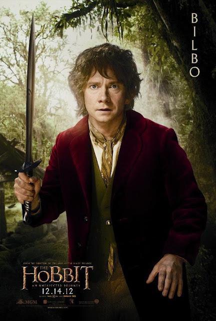 The Hobbit, character poster, bilbo