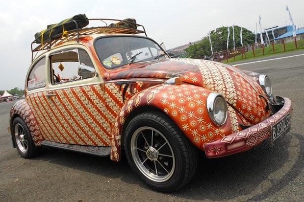 Modifikasi Mobil Volkswagen VW Kodok