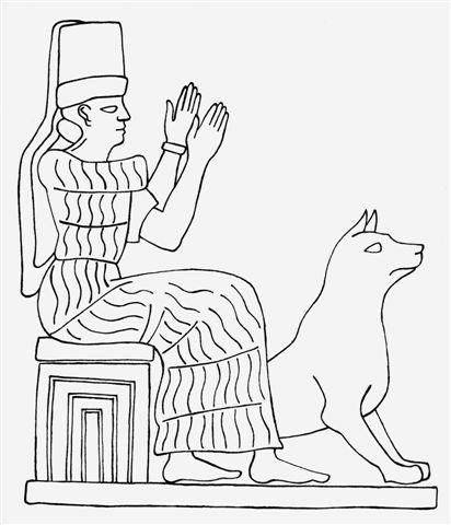 Tocho T8: Los guardianes del espacio en Mesopotamia: la diosa ...