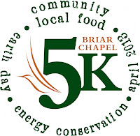 5th Annual Briar Chapel 5K & Earth Day Celebration on April 20th
