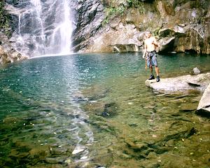 Roteiro  9 - Canyoning 1 no Rio das Pedras  (nível fácil)