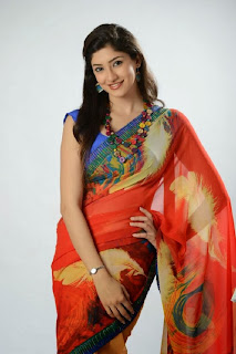 Actress Tanvi Vyas Latest Pictureshoot Gallery in Saree  0015