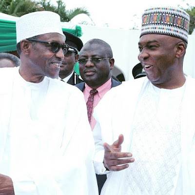 Buhari,Saraki at Nigeria 55th independence day celebrations