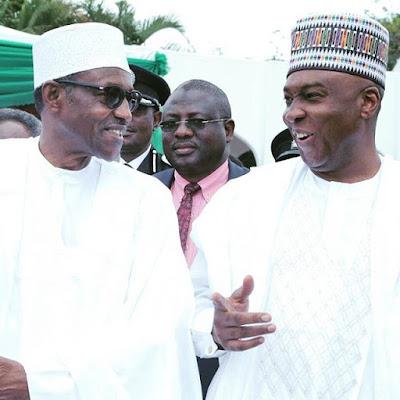 Buhari,Saraki at Nigeria 55th independence day celebrations