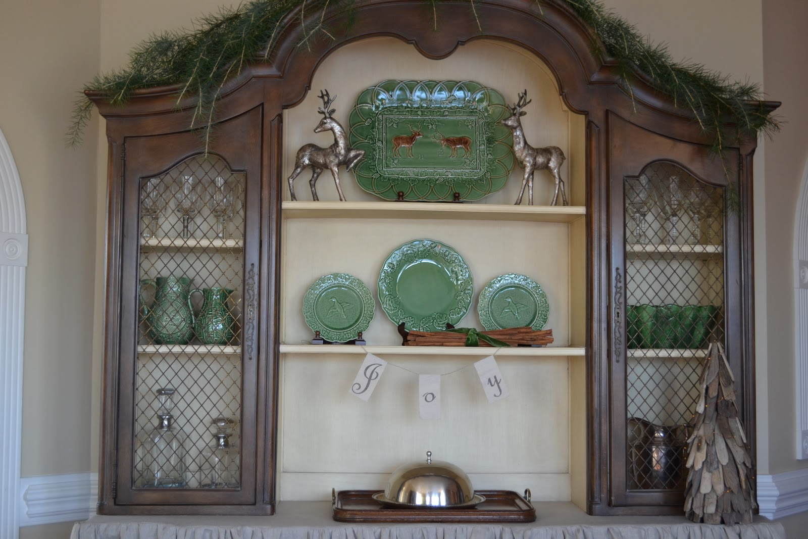 Three Pixie Lane: A French Country Hutch (No Paint Makeover)