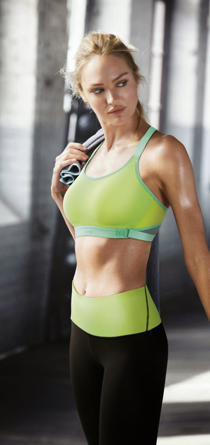 Fashion Model @ Candice Swanepoel by Victoria's Secret Shoots for Ultimate Cross -Train Sport Bra