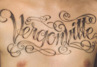 Tatuagens nome peito