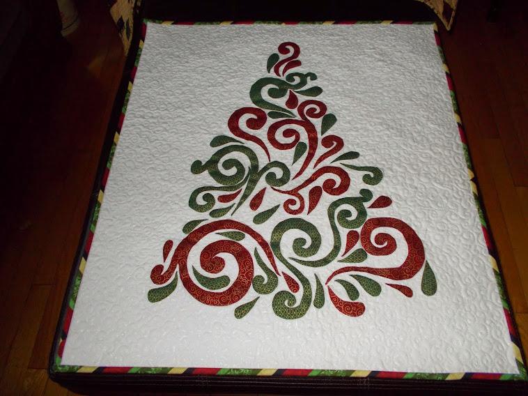 Swirled Christmas Tree