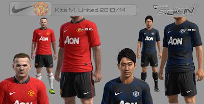 "Seragam Manchester United Jersey ""Home/Kandang"" 2013-2014"