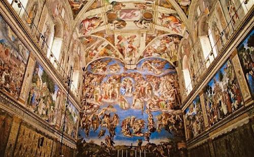 Como Michelangelo pintou o teto da Capela Sistina