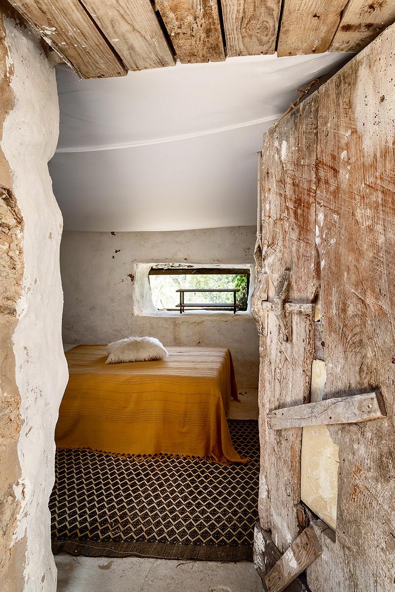 Una casa primitiva a Ibiza