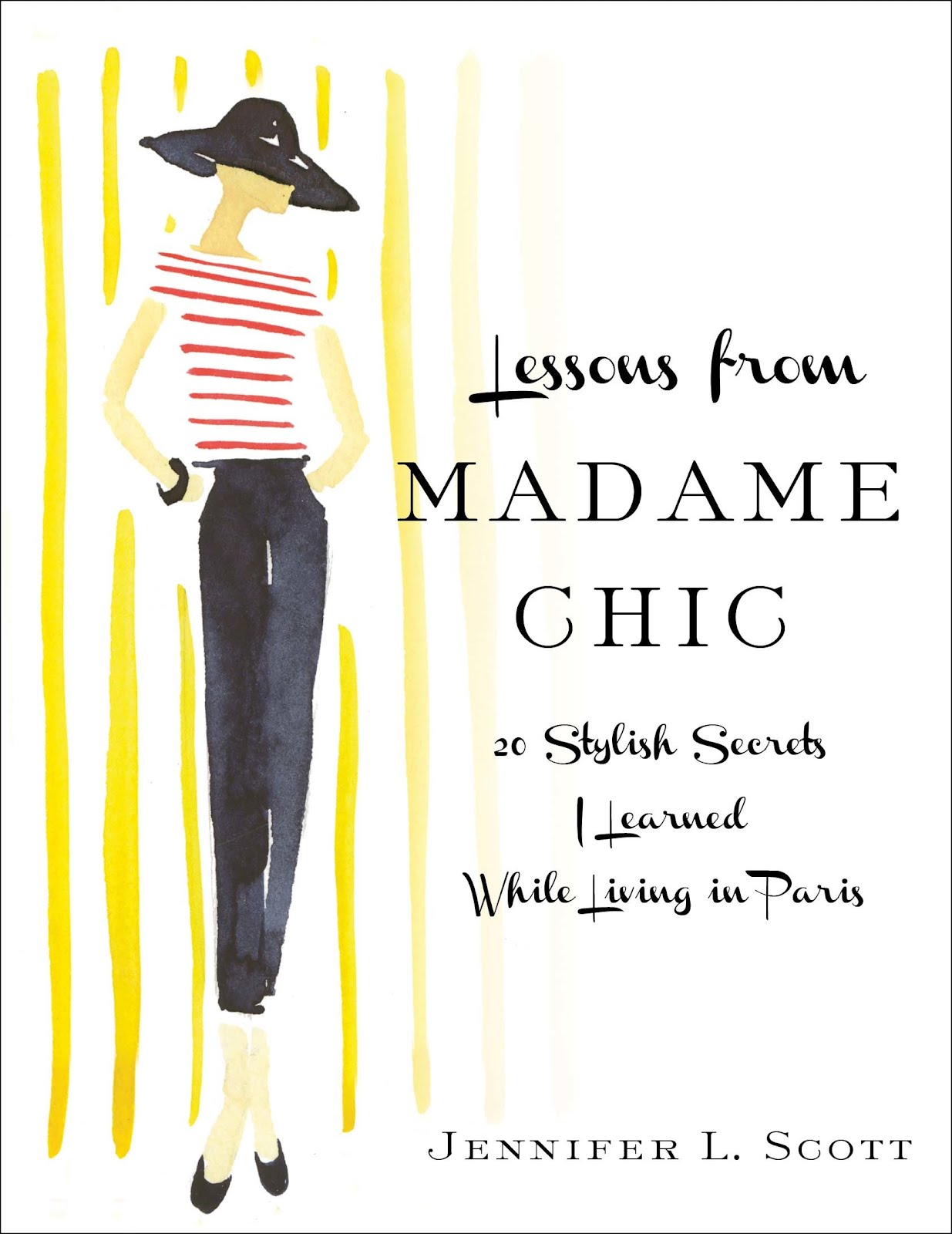 Lessons From Madame Chic Book Cover The Daily Connoisseur