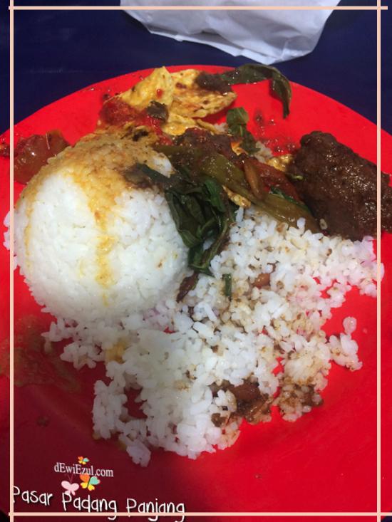 makanan Padang,makanan enak di Padang Panjang