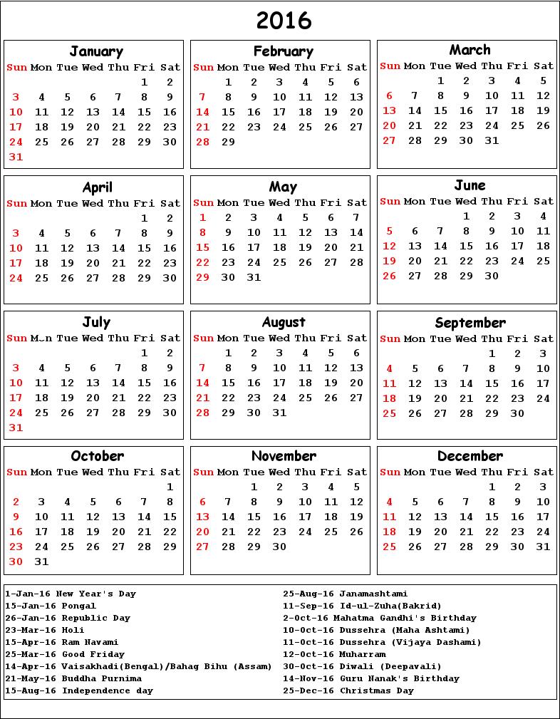 calendar word doc