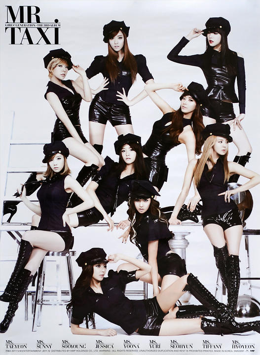 LETRA MR TAXI - Girls' Generation | Musica.com
