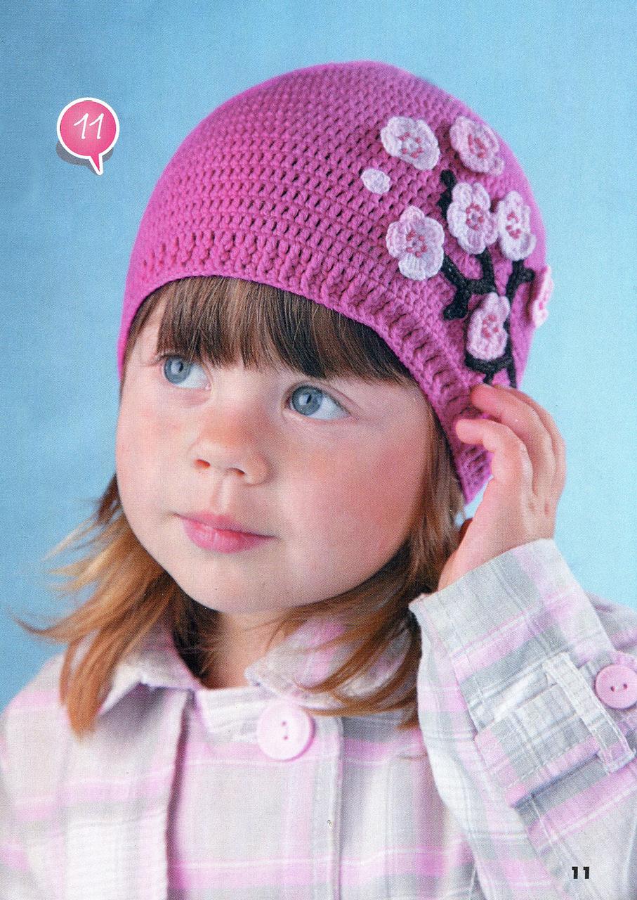Вязания детская шапочка фото