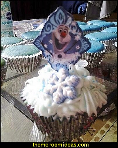 Disney Frozen Fun Pix Cupcake Decor