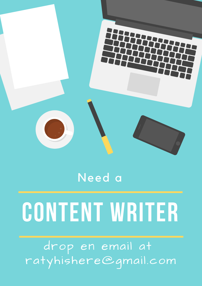 Need a Content Writer?