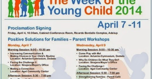 Reflective Journey In The Pacific Week Of The Young Child Activities