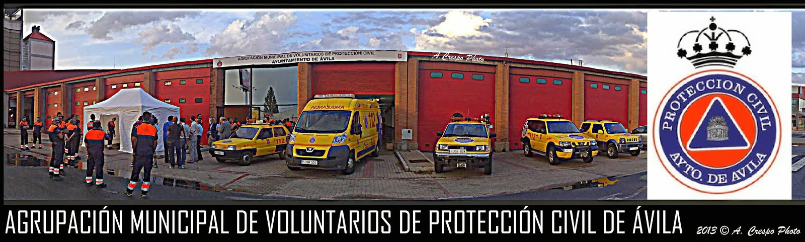 Proteccion civil de Ávila