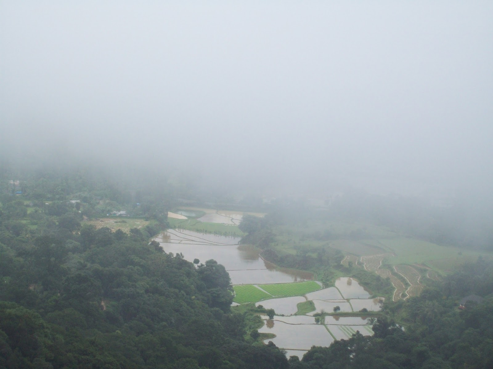 Coorg in Monsoon - Raja's Seat
