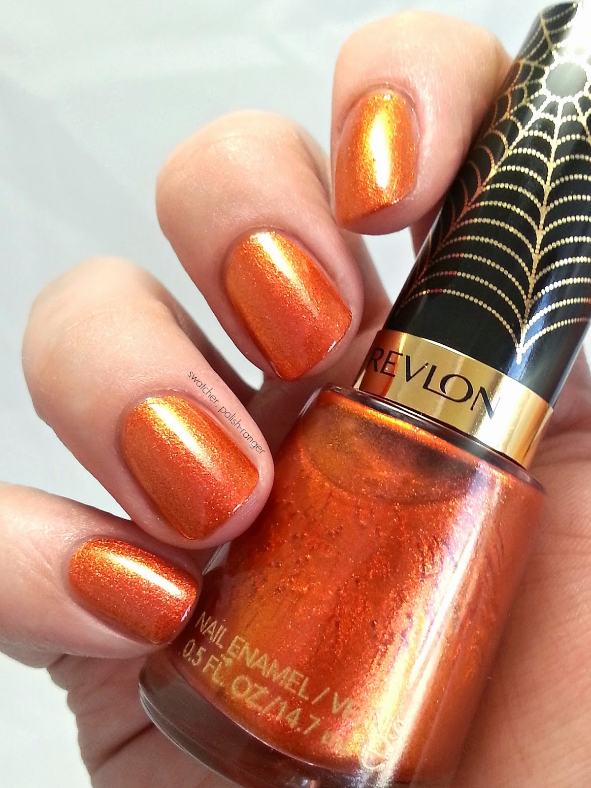 Revlon Electric Chrome Collection LE Electrified Web swatch