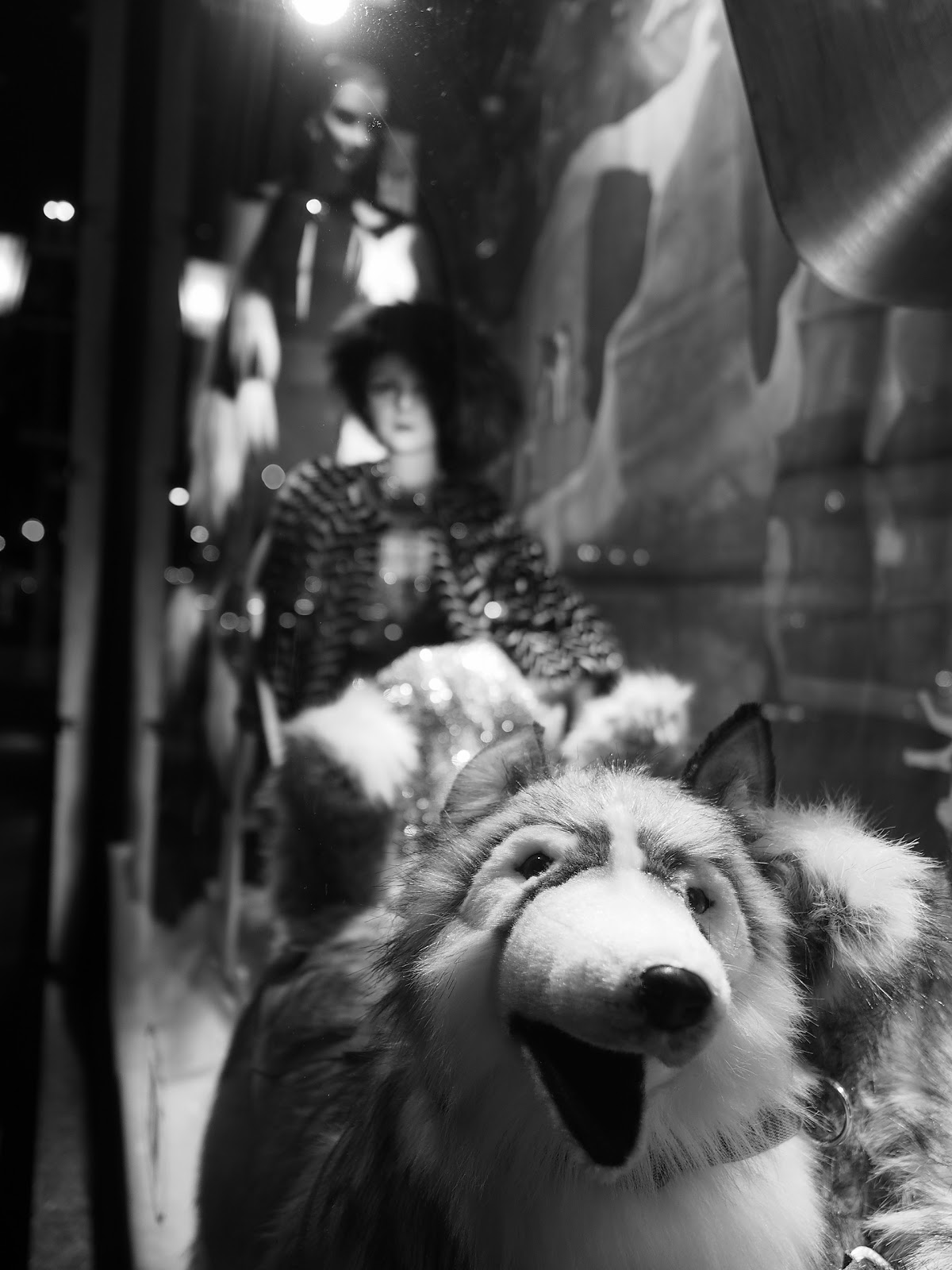 Plush #Plush #bgwindows #windowwatchers #holidaywindows #5thavenuewindows #NYC  #holidays #besttimeoftheyear #nyc ©2014 Nancy Lundebjerg
