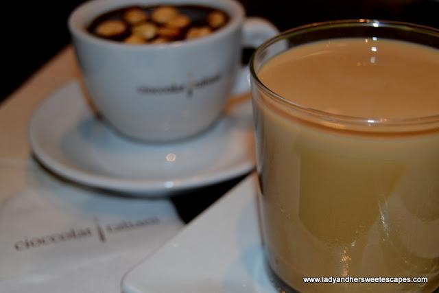 CioccolatItaliani's latte machiatto freddo