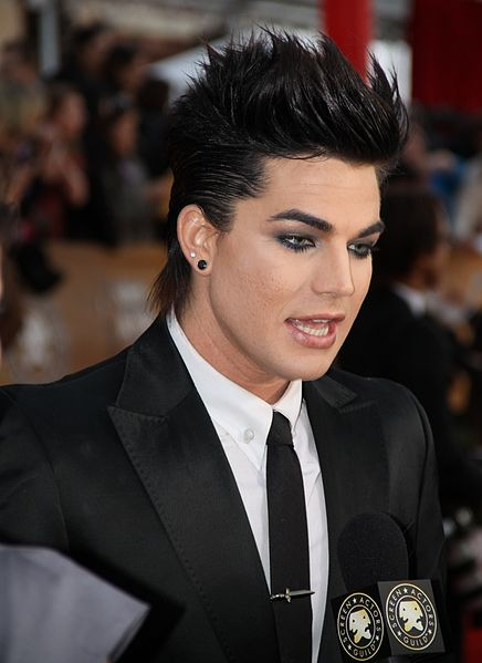 Adam Lambert is a rock star. He has legions of adoring fans, ...